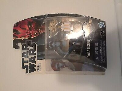 HASBRO 2009 Star Wars Rare The Clone Wars Aayla Secura CW40 Action Figure SEALED