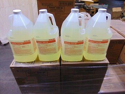 4x 1 Gallon Ecolab Esteem Sani-nc Liquid Sanitizer For Utensils Dishwasher