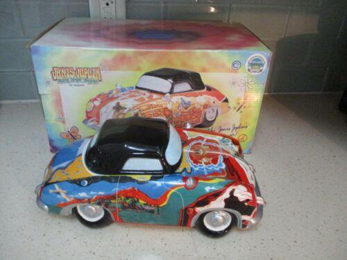 Janis Joplin Porsche VANDOR Musical Ceramic Container Music Box Cookie Jar 2000