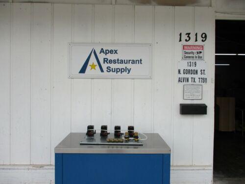 New! Perlick 4 Beer Pump Panel # 4694