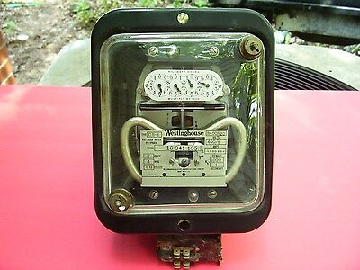 Rare Find Antique Vintage Westinghouse Polyphase Electric Watthour Meter