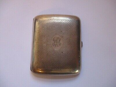 ELGIN AMERICAN STERLING SILVER CIGARETTE CASE