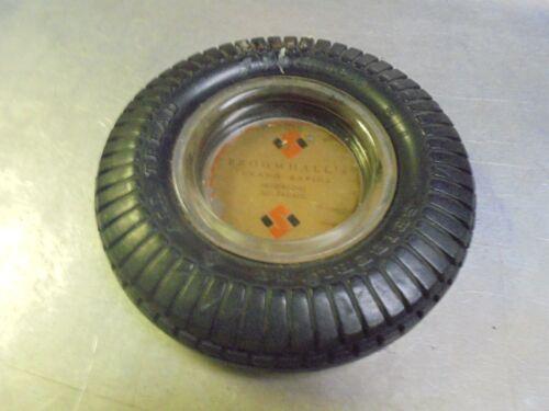 Vintage Seiberling Tire Ashtray Broomhall
