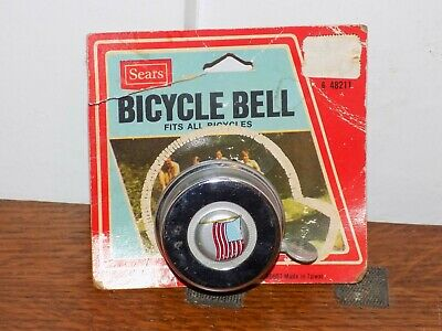 Cyclists/' Choice Jh-770 American Flag Bell Steel