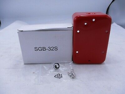 New Kidde Sgb-32s Red Back Box Fire Alarm Pull Station