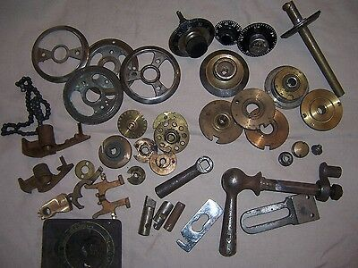 Antique Safe Parts Lot Diebold Mosler York Halls Yale Lock