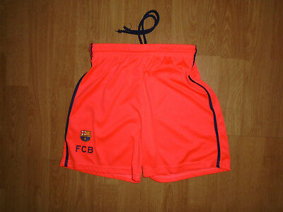 Barcelona shorts for 10-12 years, official, very good condition, UK FREEPOST!