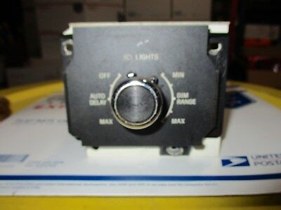 LINCOLN HEADLIGHT CONTROL SWITCH DIMMER INTERIOR LAMP PARK SELECTOR DASH TRIM