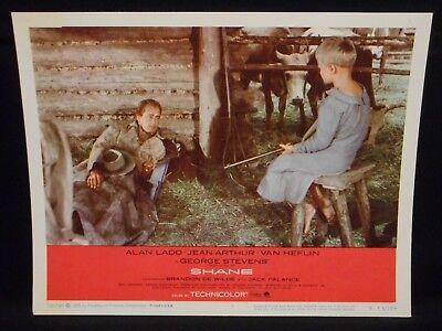 Alan Ladd Shane R-66 Lobby Card #7 VF Western