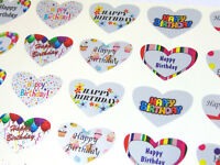 Envelopes-HBG5230 Large Gold Happy Birthday Greeting Stickers Labels for Cards