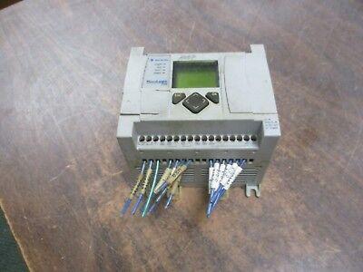 Allen-bradley Micrologix 1100 Controller 1763-l16bbb Ser. A Rev. C Frn 3 Used