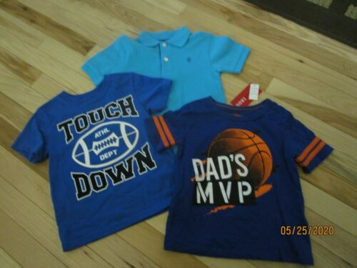 EUC LOT OF BOYS SIZE 3T SHIRTS OSHKOSH GARANIMALS AND IZOD TEES AND POLO STYLE