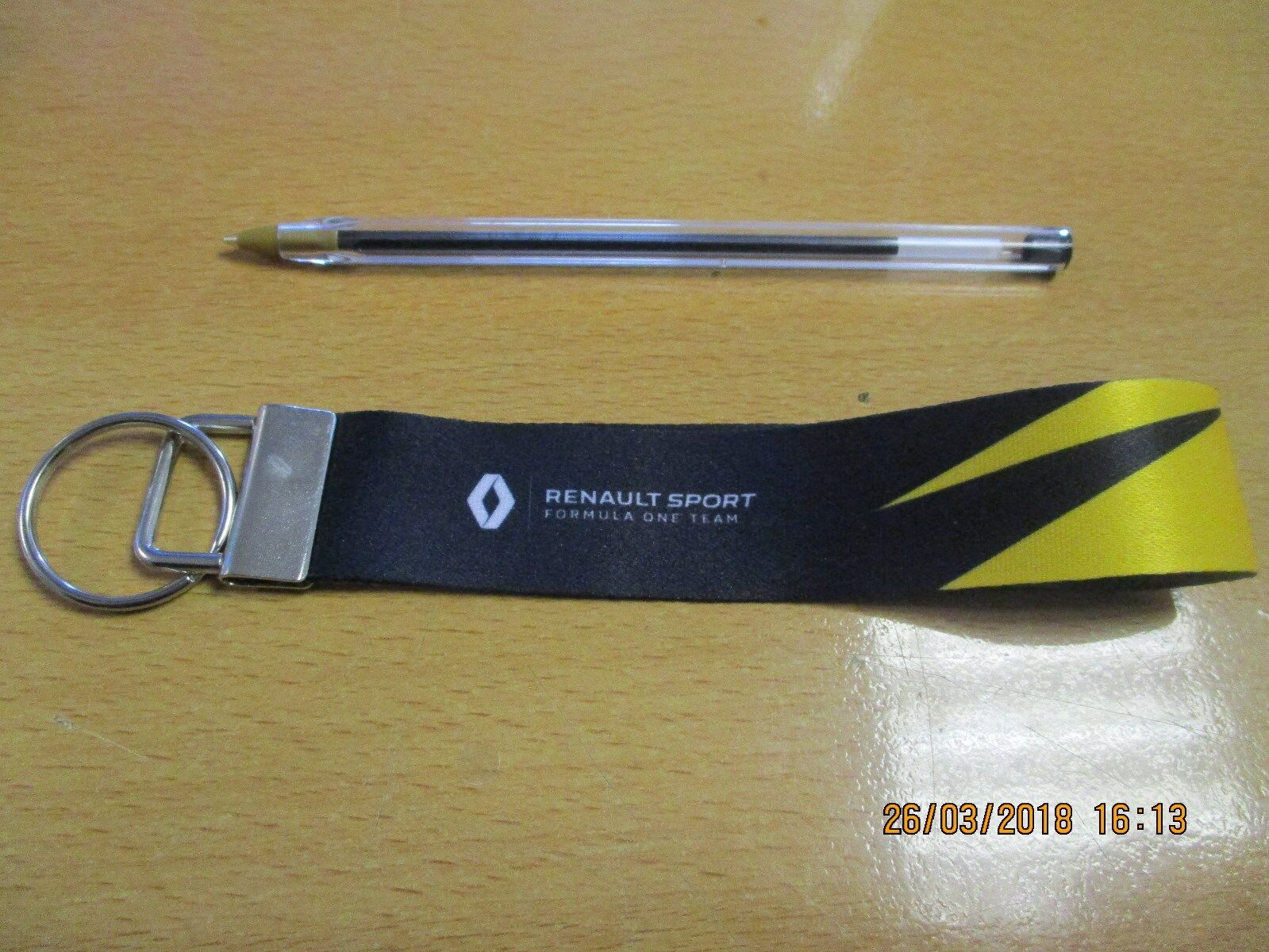 Genuine Renault Sport F1 Ball Point Pen