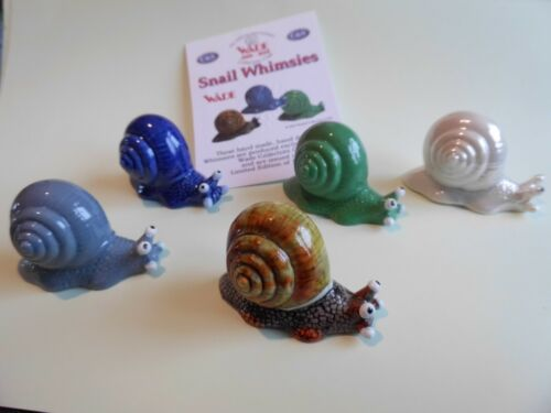 WADE WHIMSIES SNAILS X 5