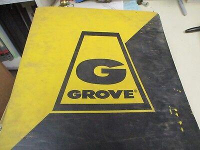 Grove Rt515 Rough Terrain Crane Parts Catalog Manual