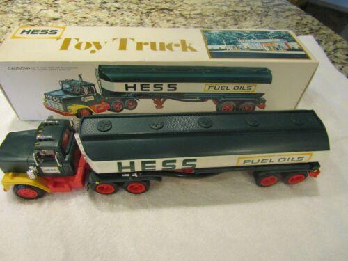 1977 hess tanker truck