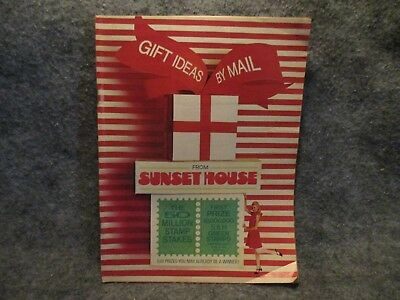 Gift Ideas By Mail Sunset House 1967 Vintage Catalog Book - Catalogs By Mail