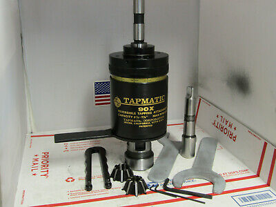 Tapmatic 90x Tapping Attachment34 3-mt Shank2 Colletswrenchesmachinist