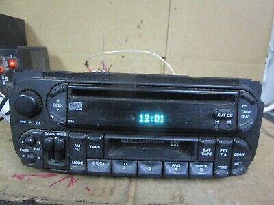 02 03 04 05 06 07 Chrysler Dodge Jeep Radio CD Player Stereo 2002-2007 05064042