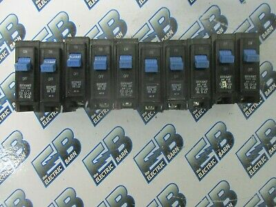 Bryant Br115 Lot Of 10 1 Pole 15 Amp 120 Volt Plug In Circuit Breaker- Warranty