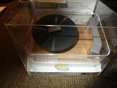 New Scotch Magic Tape Dispenser Record Player Turntable C45 Nip Desktop Music