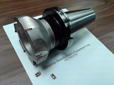 4 90 Degree Indexable Face Mill Shell Mill Sandvik Cat50 Arbor 506-sdvk-4