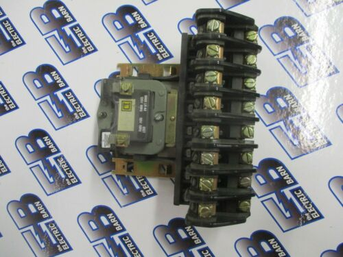 SQUARE D 8903 L01200, 8 POLE 20 AMP LIGHTING CONTACTOR- WARRANTY