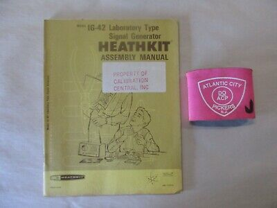 Heathkit Model Ig-42 Laboratory Type Signal Generator Assembly Manual