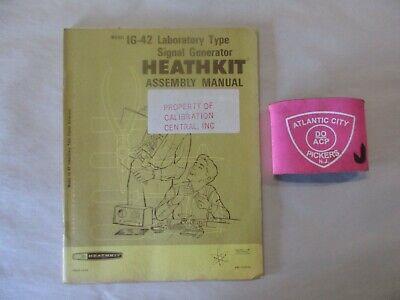 Heathkit Model Ig-42 Laboratory Type Signal Generator Assembly Manual