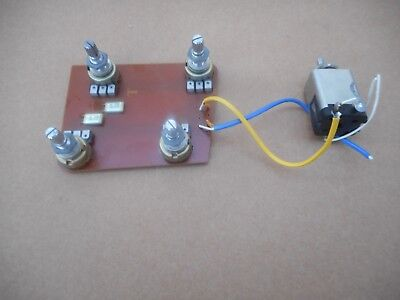 Vintage Yamaha SG Guitar Control Cavity Circuit Board With Pots & Switch for sale  Shipping to India