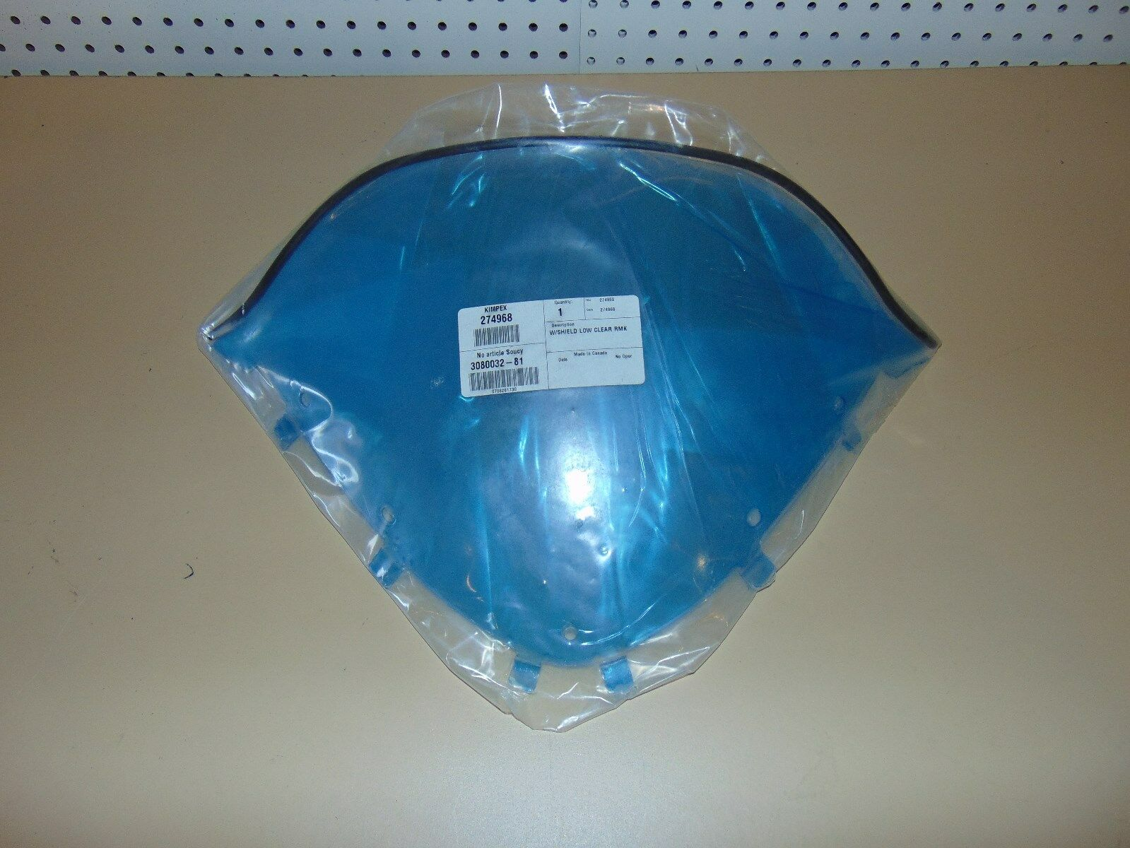 Kimpex 274968 Snowmobile Windshield Low Clear 2006 Polaris RMK 06