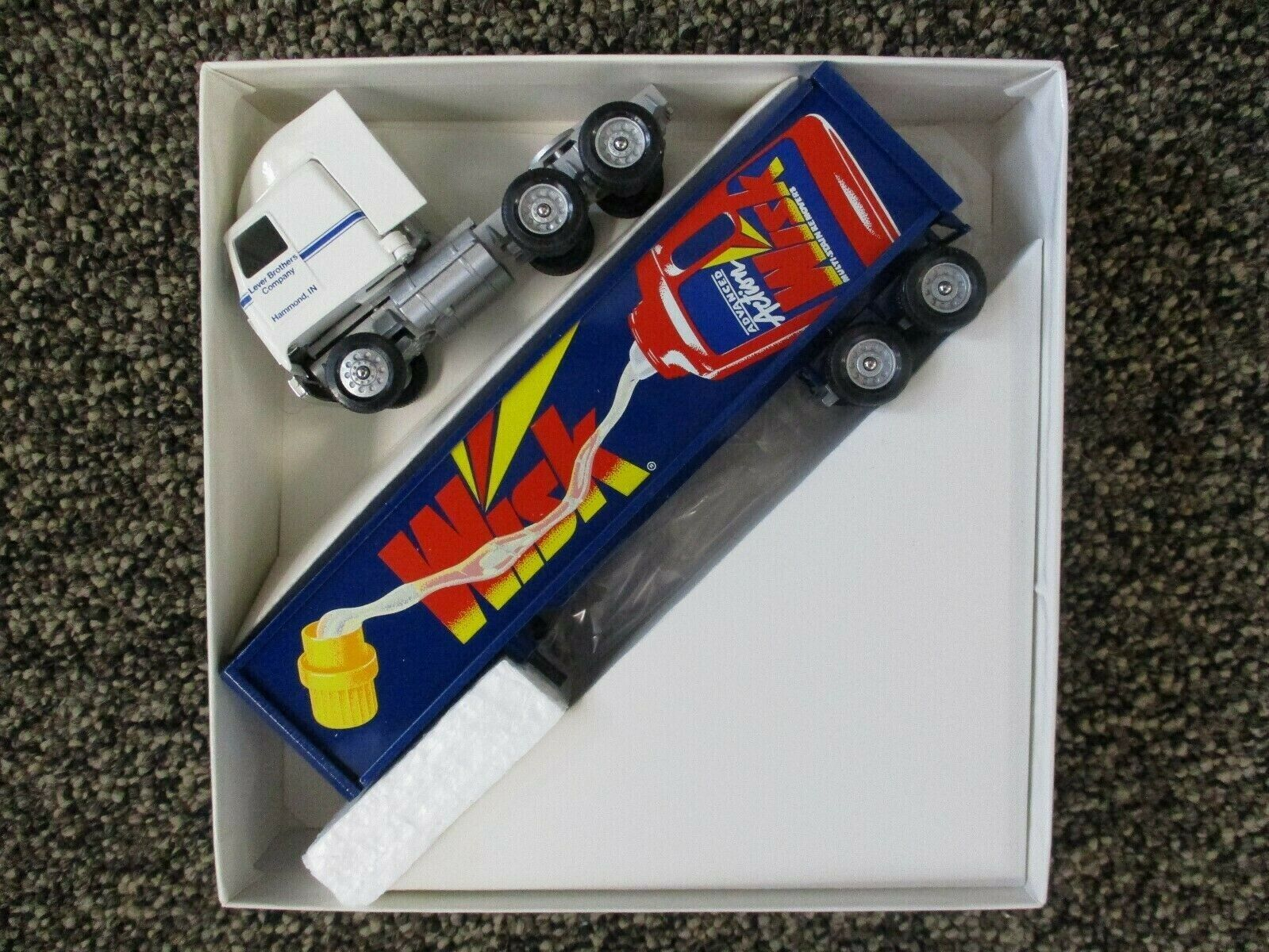 Winross 1/64 Scale Diecast Tractor Trailer Wisk Laundry Detergent New In Box