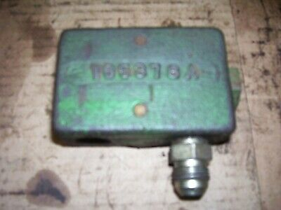 Vintage Oliver 1850 Gas Tractor - Hydraulic Lines Junction Block - 1969