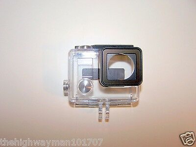 Genuine GoPro Hero 3 or 3+Plus and the Hero 4 Standard Slim Waterproof Housing