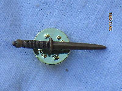 Kleiner Dolch (All Arms Commando Badges,kleine Bayonets/Messer/Dolche/Dagger, 2 Stück)