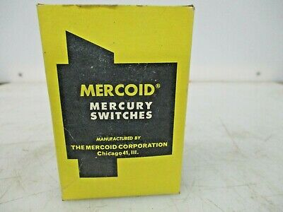 New Mercoid Mercury Switches 3-9107-bb