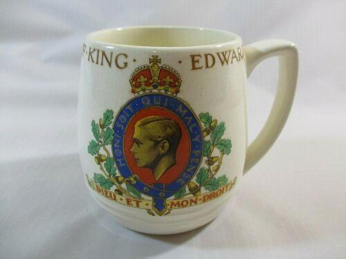Vtg. Edward 8th Of England Souvenir Mug