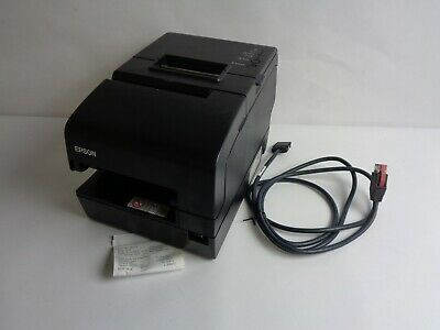 No Adapter Epson M253a Tm-h6000iv Thermal Pos Printer W Power Plus And Cable