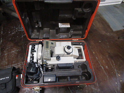 Sokkia Set 3bii Total-station With New External Batterys And Cable