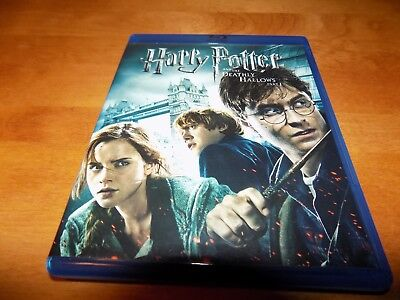 HARRY POTTER AND THE DEATHLY HALLOWS PART ONE I BLUE RAY / DVD 3-Disc