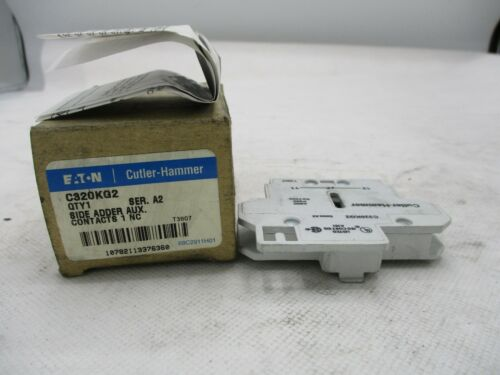 NEW EATON/CUTLER-HAMMER C320KG2 AUXILIARY CONTACT