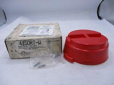 New Esl 445drt 445drt-w Fire Alarm Smoke Detector