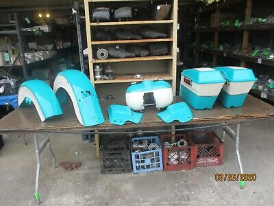 GAS TANK, FRONT & REAR FENDERS, SIDE COVERS, SADDLEBAGS HARLEY1996 FLHR