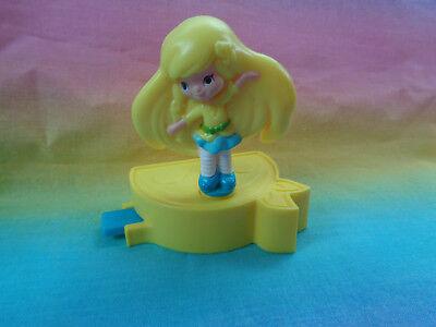 2014 Burger King Strawberry Shortcake Twirling Lemon Meringue Kids Club Toy