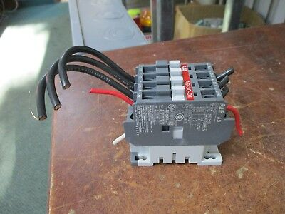 Abb Contactor A9-30-01 120v Coil 21a 600v Used