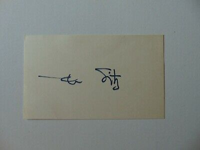 """""""Olympic Gold Medalist"""" Mark Spitz hand Signed 3X5 Index Card Todd Mueller COA"""