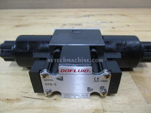 Dofluid Hydraulic Solenoid Valve DFB-02-3C4-A110