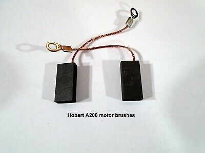 Hobart A200 Mixer Motor Brushes One Pair . A200 20qt Brush Style Motors