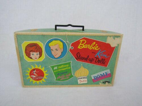 VTG 1969 Mattel Barbie Ken Gretchen Marilyn Paper Dolls Clothes Stands