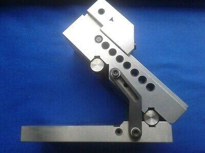 Precision Sine Vise 4 Opening Jaw Depth Toolmaker Machinist Tool Making Vise